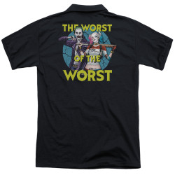 Image for Suicide Squad Polo Shirt - Worst Pair