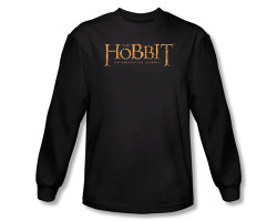 Image Closeup for The Hobbit Logo long sleeve T-Shirt