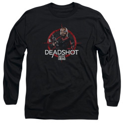 Image for Suicide Squad Long Sleeve Shirt - Deadshot Target