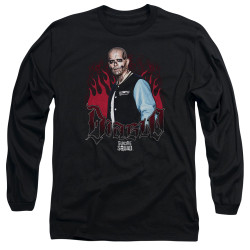Image for Suicide Squad Long Sleeve Shirt - Diablo Flames
