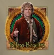 Image for The Hobbit Mr. Baggins long sleeve T-Shirt