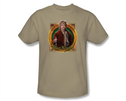 Image Closeup for The Hobbit Mr. Baggins T-Shirt