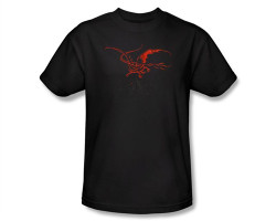 Image Closeup for The Hobbit Smaug T-Shirt