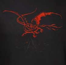 Image for The Hobbit Girls T-Shirt - Smaug