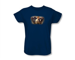Image Closeup for The Hobbit Womens T-Shirt - Rally