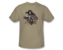 Image Closeup for The Hobbit Bofur the Dwarf T-Shirt