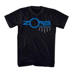 Image for The Fifth Element Zorg Industries Weapon System Division T-Shirt