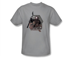 Image Closeup for The Hobbit Gloin the Dwarf T-Shirt