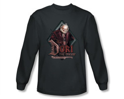 Image Closeup for The Hobbit Dori the Dwarf long sleeve T-Shirt