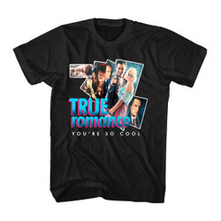 Image for True Romance Group Collage T-Shirt