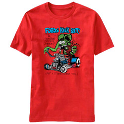 Image for Rat Fink Fords Kick Butt T-Shirt