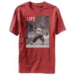 Image for Life Magazine Zip Skate Heather T-Shirt