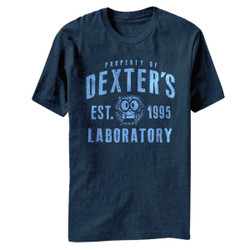 Image for Dexter's Laboratory Property of Dexter's Laboratory T-Shirt