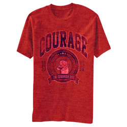 Image for Courage the Cowardly Dog Vintage 99 Heather T-Shirt
