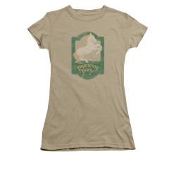 Image for Lord of the Rings Girls T-Shirt - the Prancing Pony Sign