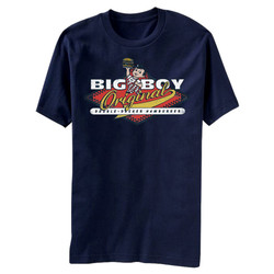 Image for Bob's Big Boy Original Double Decker Hamburger T-Shirt