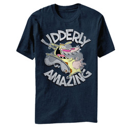 Image for Cow and Chicken Udderly Amazing Heather T-Shirt