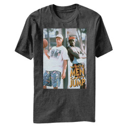 Image for White Men Can't Jump Billy & Sidney Heather T-Shirt