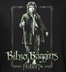 Image for The Hobbit Bilbo Stare long sleeve T-Shirt