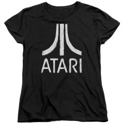 Image for Atari Woman's T-Shirt - Rough Logo