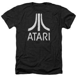 Image for Atari Heather T-Shirt - Rough Logo