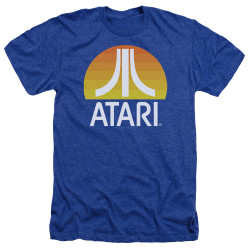 Image for Atari Heather T-Shirt - Sunrise Clean