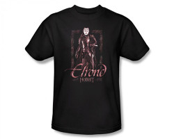 Image Closeup for The Hobbit Elrond Stare T-Shirt