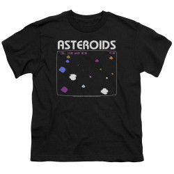 Image for Atari Youth T-Shirt - Asteroids Screen