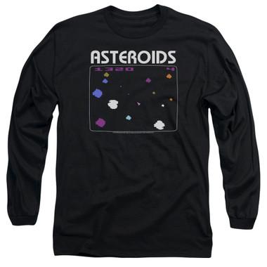 Image for Atari Long Sleeve T-Shirt - Asteroids Screen