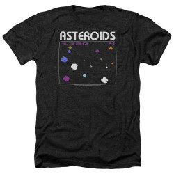 Image for Atari Heather T-Shirt - Asteroids Screen