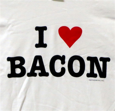 Image for Bacon T-Shirt - I Love Bacon