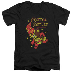 Image for Atari V-Neck T-Shirt - Crystal Castles Bear
