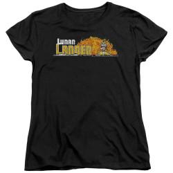 Image for Atari Woman's T-Shirt - Lunar Lander Marquee