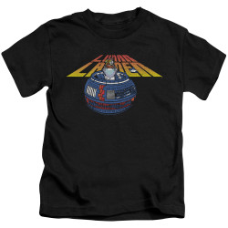 Image for Atari Kids T-Shirt - Lunar Lander Globe