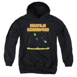 Image for Atari Youth Hoodie - Missile Command Screen