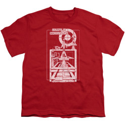 Image for Atari Youth T-Shirt - Missile Command Lift Off
