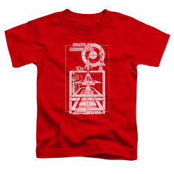 Image for Atari Toddler T-Shirt - Missile Command Lift Off
