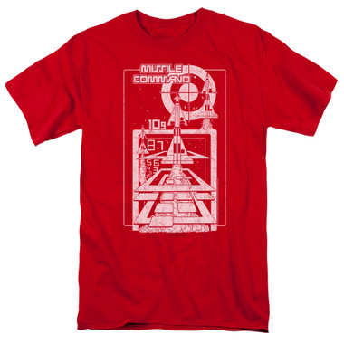 Image for Atari T-Shirt - Missile Command Lift Off
