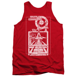 Image for Atari Tank Top - Missile Command Lift Off