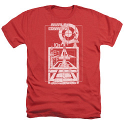 Image for Atari Heather T-Shirt - Missile Command Lift Off