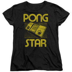 Image for Atari Woman's T-Shirt - Pong Star