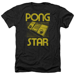 Image for Atari Heather T-Shirt - Pong Star