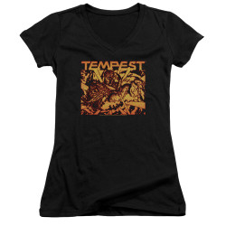 Image for Atari Girls V Neck T-Shirt - Tempest Demon Reach