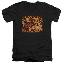 Image for Atari V-Neck T-Shirt - Tempest Demon Reach