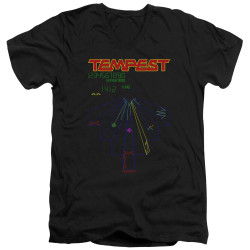Image for Atari V-Neck T-Shirt - Tempest Screen