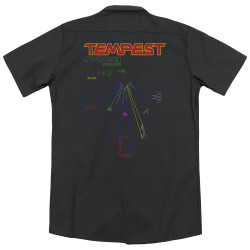 Image for Atari Dickies Work Shirt - Tempest Screen