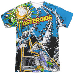Image for Atari Sublimated T-Shirt - Asteroids All Over 100% Polyester