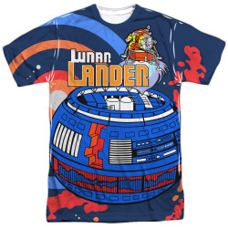 Image for Atari Sublimated T-Shirt - Lunar Landing 100% Polyester