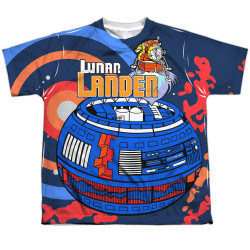 Image for Atari Sublimated Youth T-Shirt - Lunar Landing 100% Polyester