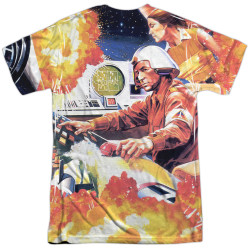 Image for Atari Sublimated T-Shirt - Missile Command 100% Polyester